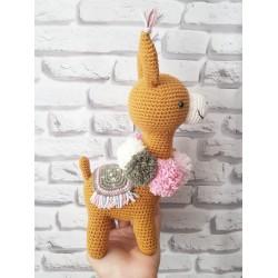 Jucarie handmade alpaca...
