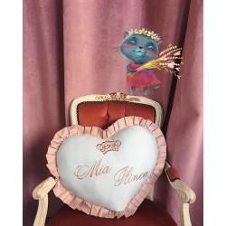 Perna decorativa inima bleu...