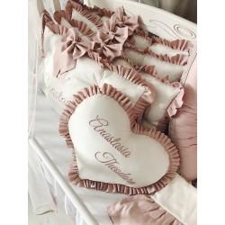 Perna decorativa inima...