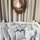 Setul de aparatoare sub formă de animalute este realizat din bumbac natural, iar umplutura este din fibre de silicon. Fiecare detaliu al lateralelor ofera bebelușului un maxim de siguranta si confort 🤍🤍🤍 #setpatut #handmade #produsepersonalizate #babycare #pernute