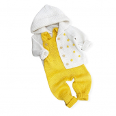 💛Set tricotat 💛 #hainutetricotatemanual #sbaby