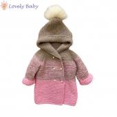 Jacheta tricotata 🌸 #sbaby #hainutetricotatemanual
