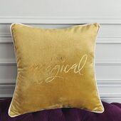 O splendoare de culoare si un mesaj minunat! ☀️ . . . #pernadecorativa #cameradezi #pillow #cutepillow #decorpillows