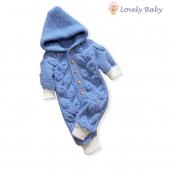 Salopeta tricotata  Lâna 49% Baby acril 51 %